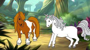 pony wil eenhoorn zijn